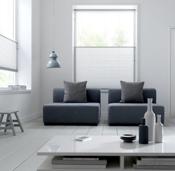 pliss en duette gordijnen breed inzetbaar voor speciale ramen schmitz engelen. Black Bedroom Furniture Sets. Home Design Ideas