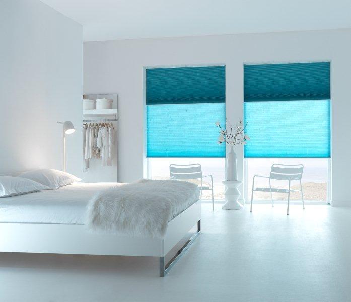 Plissé- en Duette gordijnen breed inzetbaar voor speciale ramen ...
