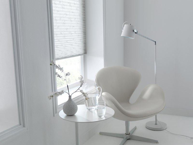 Plise Gordijn 8 : Plissé en duette gordijnen breed inzetbaar voor speciale ramen